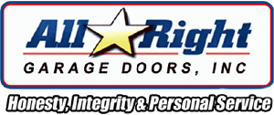 All Right Garage Doors, Honestly, Integrity and Personal Servie